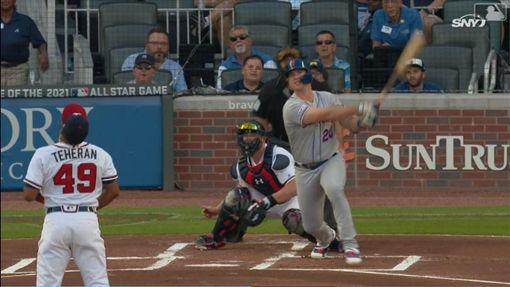 ▲大都會新秀阿隆索(Pete Alonso)39轟追平國聯新人紀錄。(圖/翻攝自MLB官網)