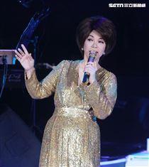 蔡琴2019「好新琴」演唱會。(記者邱榮吉/攝影)