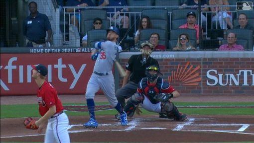 ▲貝林傑(Cody Bellinger)敲出本季第41號全壘打。(圖/翻攝自MLB官網)