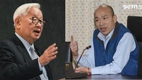 韓國瑜,張忠謀,總統,副手(資料照)