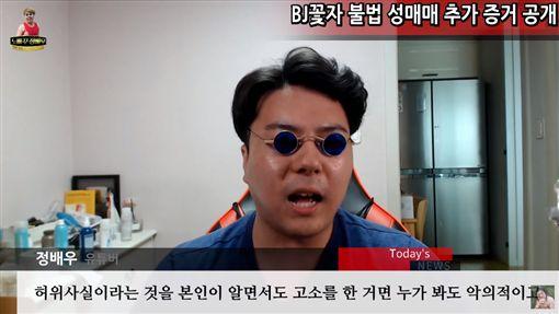 韓國直播主花子性交易 圖/YT