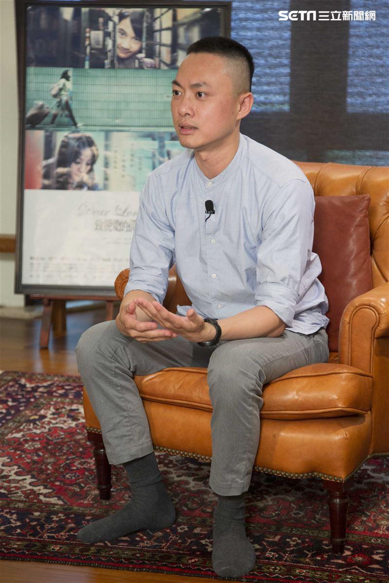 《致親愛的孤獨者》專訪,導演練建宏。(圖/記者林士傑攝影)