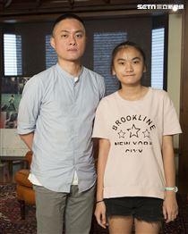 《致親愛的孤獨者》專訪,導演練建宏,演員林慈恩。(圖/記者林士傑攝影)