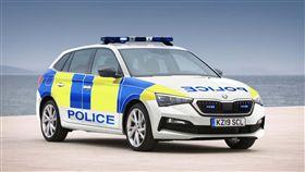 ▲Skoda Scala英國警車(圖/翻攝網路)