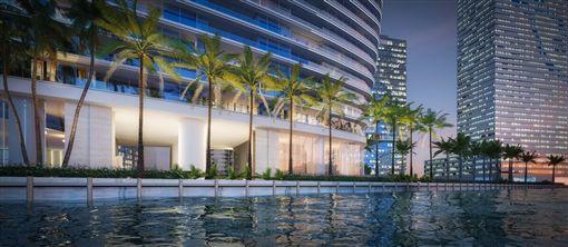 ▲Aston Martin Residences邁阿密豪華公寓(圖/翻攝網路)