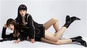 女團BY2參加《明日之子3》晉級4強。(圖/翻攝自微博)
