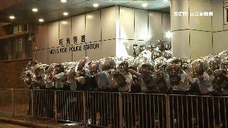 光復紅土遊行示威!一度與警緊張對峙