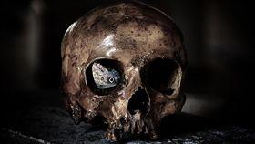 幽靈 鬼 靈異 骷髏頭 示意圖 /pixabay