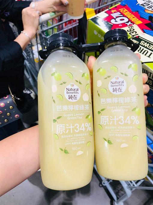 葡萄柚蘋果綠茶、芭樂檸檬綠茶/COSTCO 好市多 消費經驗分享區