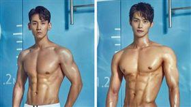 33「大肌肌」看到飽!歐爸選美超肉色 網友直呼女性福音(圖/翻攝自Mister International Korea Pageant臉書)