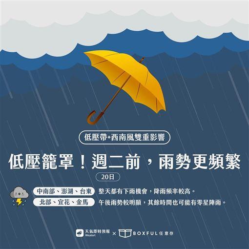 氣象局,天氣,大雨特報,天氣即時預報