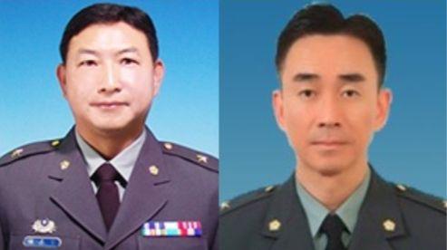 前中正預校校長陳嘉生及現任校長余劍鋒