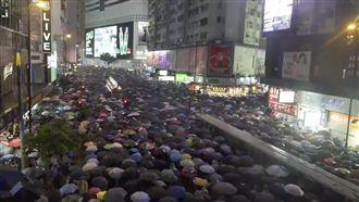 香港大遊行 中共宣布建設深圳示範區