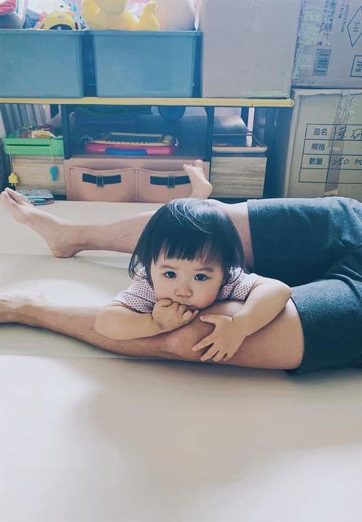 福原愛,江宏傑,小小愛,日語/翻攝自江宏傑臉書