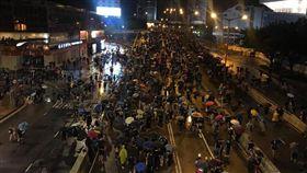 香港,反送中,民陣,818集會(圖/翻攝自金水臉書)