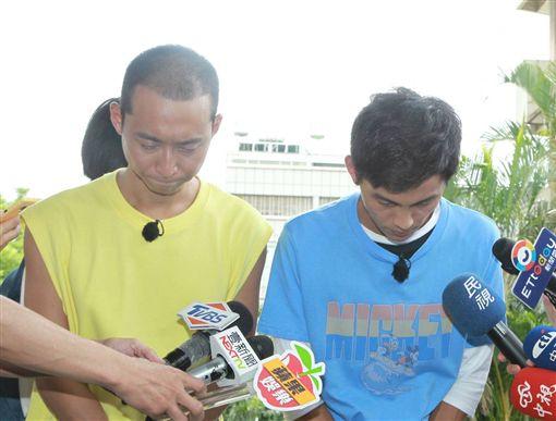 阿翔被冷凍2個月後復出錄影 浩子陪在一旁 圖/記者邱榮吉攝影