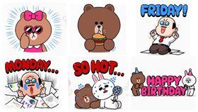 「熊大免費貼圖」又來了!熊大吃著漢堡等你來下載!