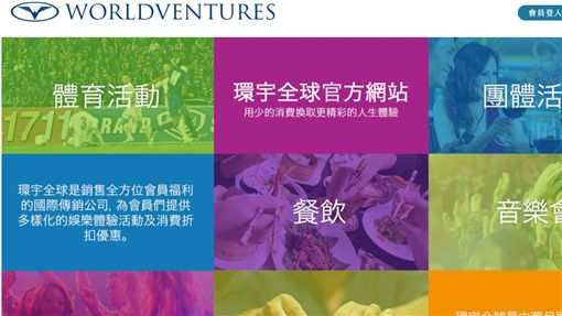 WorldVentures台灣分公司因違反多層次傳銷法,2名美籍負責人遭起訴。(圖/翻攝自WorldVentures台灣官網)