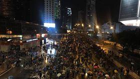 (16:9) 香港,反送中,民陣,818集會(圖/翻攝自金水臉書)