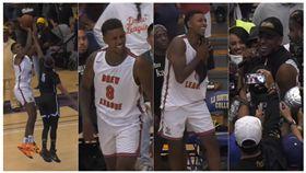 NBA/奪冠!「黑人問號」大酸羅素 黑人問號,德魯聯賽,洛杉磯湖人,Nick Young,偷拍 翻攝自YouTube BallerVisions