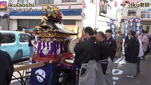 ▲大間町每年一次的遶境活動,日期就在7月的國定假日「海之日」。(圖/Iku老師/Ikulaoshi 授權)