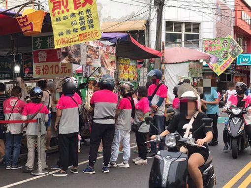 foodpanda擠爆嘉義滷味店(圖/翻攝自爆廢公社)