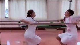 日本,成人片,AV女優,護士,復健。(圖/翻攝自HunterHunterki推特)