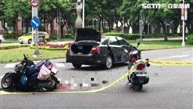 轎車,機車,車禍,監視器,台北市