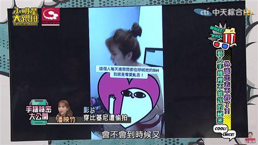 潘映竹手機內容流出 圖/YT