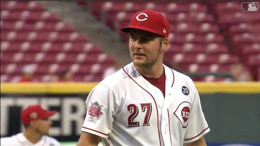▲包爾(Trevor Bauer)連3場比賽挨轟,轉隊紅人後吞下2連敗。(圖/翻攝自MLB官網)