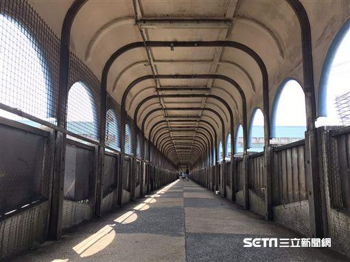 基隆中山陸橋。(圖/網友簡先生提供)