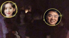 奶茶妹在老公劉強東身陷性侵醜聞後首度同框現身。(圖/翻攝自會火微博)