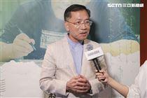 《致親愛的孤獨者》媒體特映會,蔡炳坤副市長接受訪問。(圖/記者林士傑攝影)