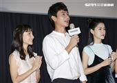 《致親愛的孤獨者》媒體特映會,張寗、劉冠廷、李聿安。(圖/記者林士傑攝影)