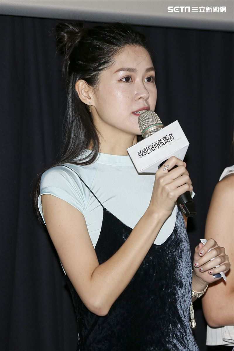 《致親愛的孤獨者》媒體特映會,李聿安。(圖/記者林士傑攝影)