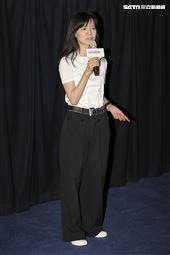 《致親愛的孤獨者》媒體特映會,監製蘇麗媚。(圖/記者林士傑攝影)
