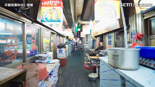 ▲南大門的帶魚一條街。(圖/不韓而栗BHEC 授權)