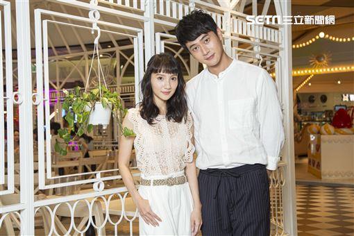 《致親愛的孤獨者》主演劉冠廷、張寗接受三立新聞網專訪。(圖/記者林士傑攝影)