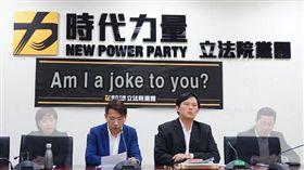 淚控時代力量背棄盟友!王浩宇爆「組黨黑幕」批:投機政黨(圖/翻攝自綠黨臉書)