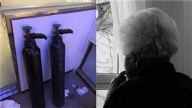 笑氣,外婆,老人,中國,上海(合成圖/取自Pixabay,資料照)
