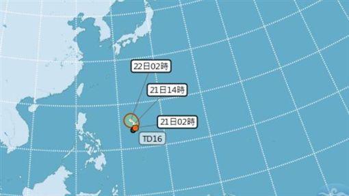 0821熱帶性低氣壓_氣象局