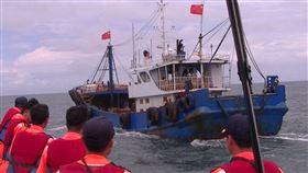 澎湖縣,中國漁船,越界,漁場,查扣(圖/澎湖海巡隊提供)