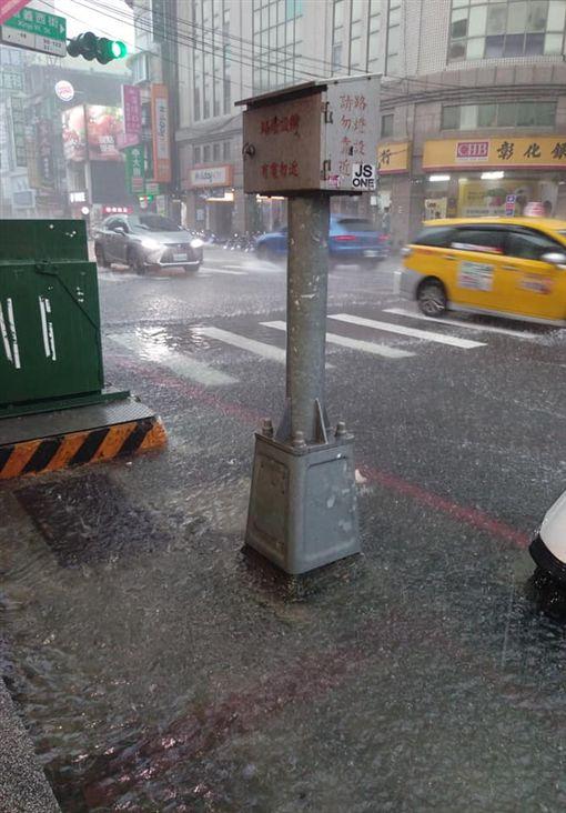 新北市,三重,大雨,積水,新北市消防局