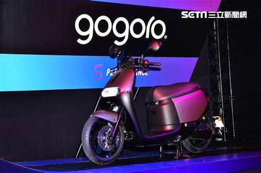 ▲Gogoro S2 ABS光譜靛。(圖/鍾釗榛攝影)