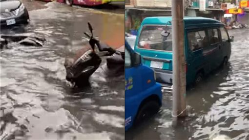 淹水警戒,台北,社子(圖/翻攝自我是社子人)