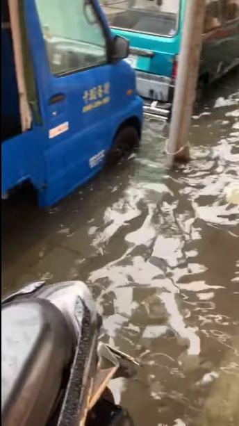 台北,士林區,社子,淹水(圖/翻攝我是社子人)