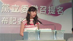 許淑華提名參選立委(記者黎冠志/攝影)