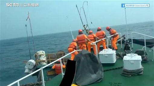畫面來源:海巡署長室 Coast Guard