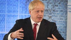英國,強生,國際領袖,會談,脫歐(圖/翻攝自推特)