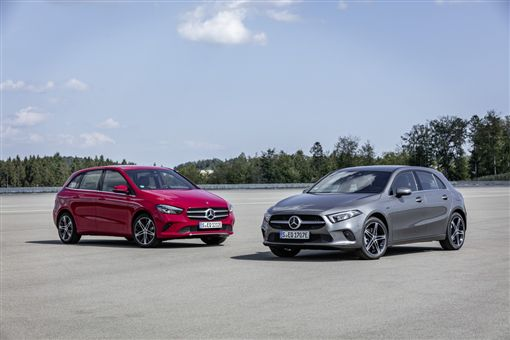 ▲Mercedes-Benz A 250 e、B 250 e(圖/翻攝網路)
